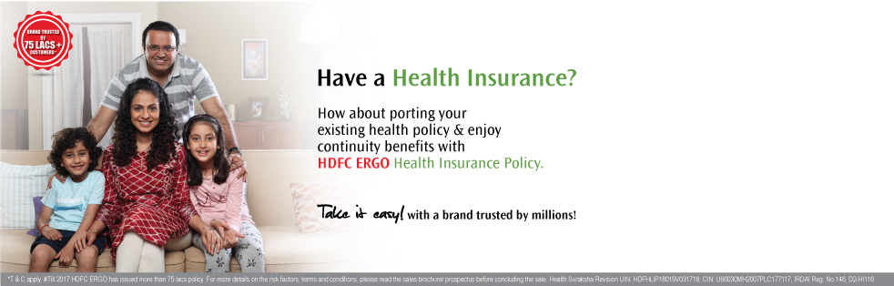 Health Suraksha - Health Insurance Policy - HDFC ERGO