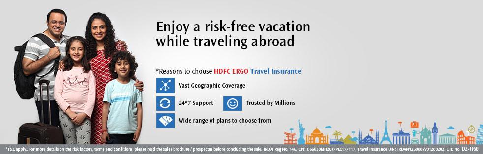 Family Travel Insurance Policy - HDFC ERGO